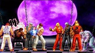 Kof Mugen Ryu Team VS Ken Master Team