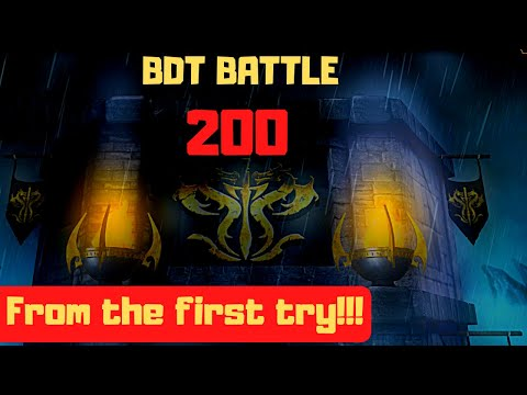 MK Mobile: Black Dragon Tower Battle 200 In One Attempt! How Did I Achieve This?!