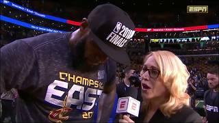 LeBron James Postgame Interview - Game 7 | Cavaliers vs Celtics | 2018 NBA East Finals