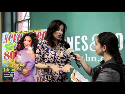 ANN SHOKET Ultimate Guide to Beauty NYC 2012 Interview W/ Pavlina SEVENTEEN MAGAZINE