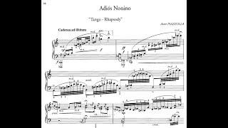 Adios Nonino - Astor Piazzolla [Score]
