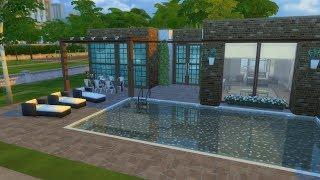 The Sims 4 - Ev Yapımı #7 - Tek Katlı Villa