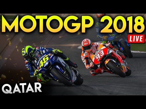 MotoGP Qatar 2018 Full Race (MotoGP 2018 Mod Gameplay Live Stream)