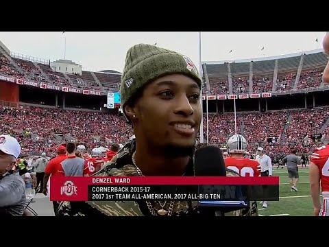 Denzel Ward Interview Ohio State Spring Football