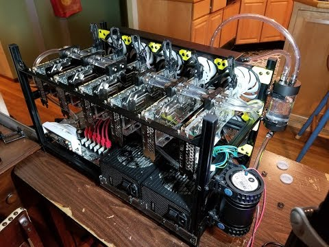 GPU Cluster / Mining Rig Water Cooled! Cooling Ideas Part 2