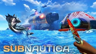 Subnautica - UNDERWATER SURVIVAL!! Subnautica Part 1 Gameplay! (Subnautica Gameplay)