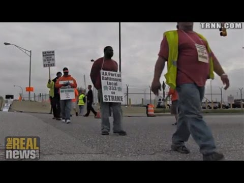 Longshoreman Strike Shuts Down Port of Baltimore
