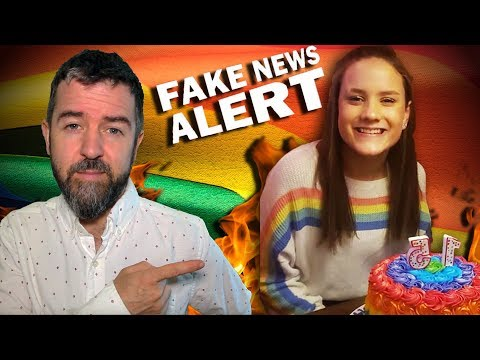 Fake News Alert! NO, a Christian School DIDN'T Expel a Girl Over a Rainbow Sweater and Cake!!