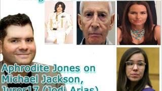 Aphrodite Jones on Michael Jackson,Juror17 Jodi Arias & Robert Durst on KJR