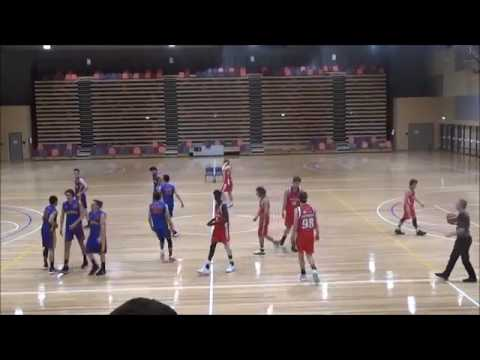 Matthew Collins - Red #99 - Big V Youth League Geelong Supercats vs Werribee Devils 2017