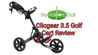 clicgear 3 5 golf cart review