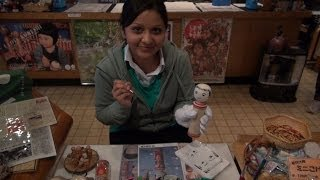 鳴子のこけしに出会う旅~インドから来たShrutiが絵付けに挑戦!