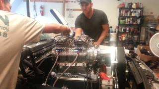 1964 Ford Galaxie 500 With New Blown Big Block