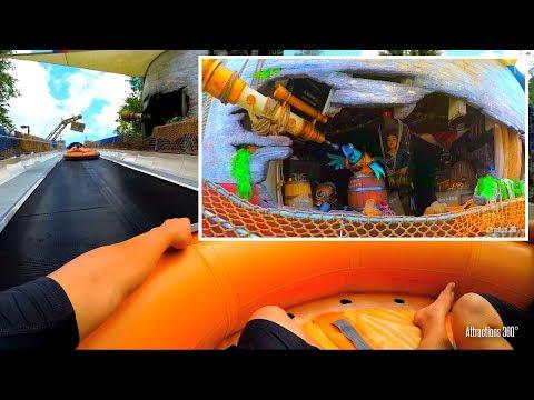 [4K] Raft Water Slide Ride - Miss Adventure Falls POV - Disney's Typhoon Lagoon.