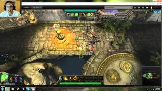 Tomb: Immortal Arena, FreeToPlay Browser Based MOBA (Beta)