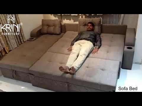 L-Shaped Sofa come