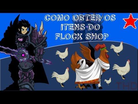 【AQW】Como Obter os Itens do Flock Shop (2016)