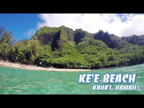 Ke'e Beach Snorkeling