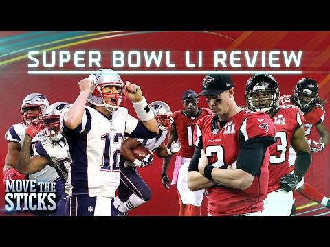 Patriots 5 Key Plays to Win Super Bowl LI | NFL | Move the Sticks