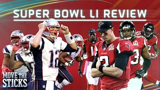 Patriots 5 Key Plays to Win Super Bowl LI | NFL | Move the Sticks