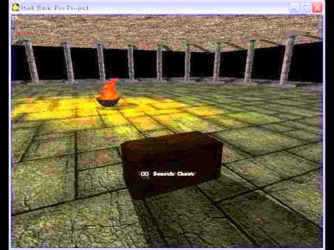 Dungeon Track 2 for DarkBASIC Pro Game