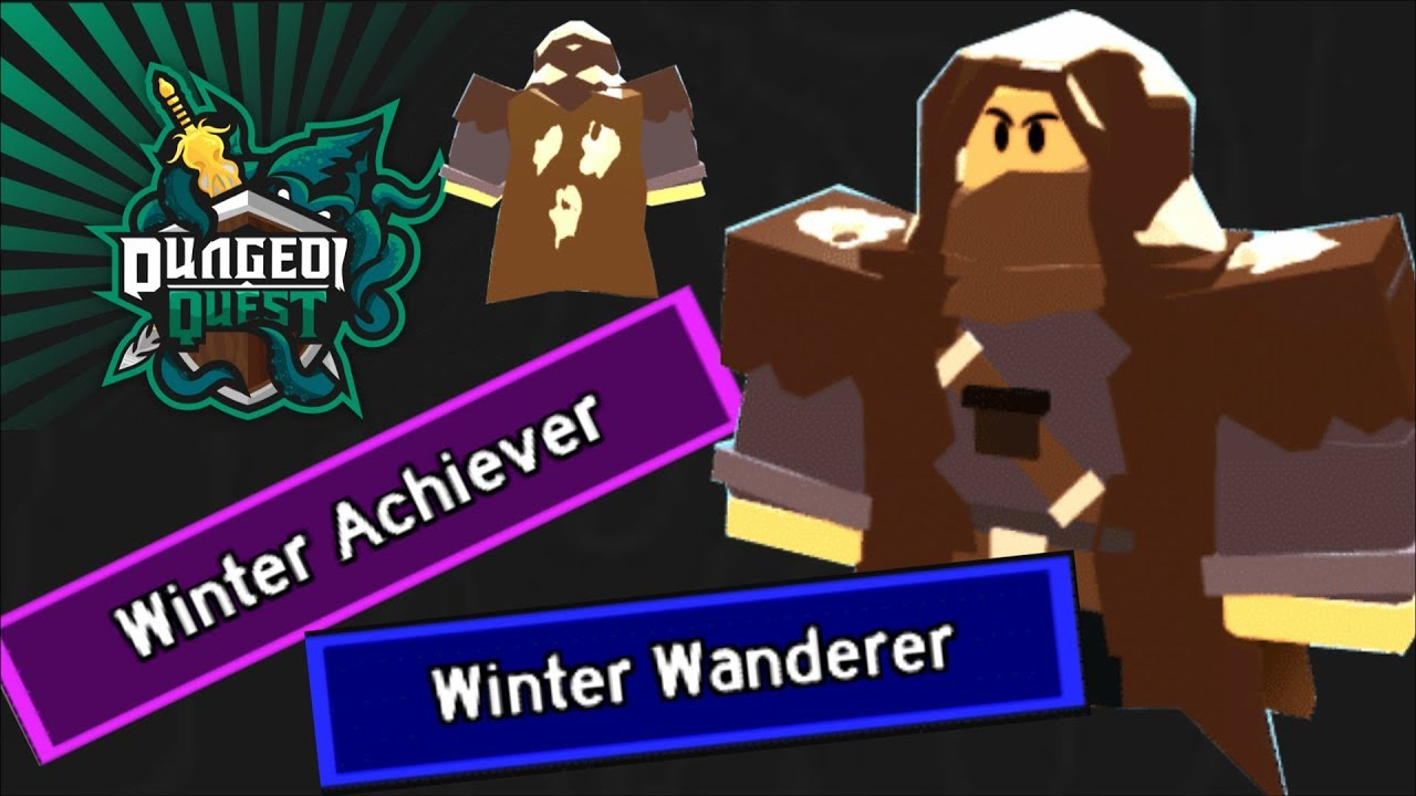 New Cosmetic Title From Winter Outpost Dungeon Quest Roblox