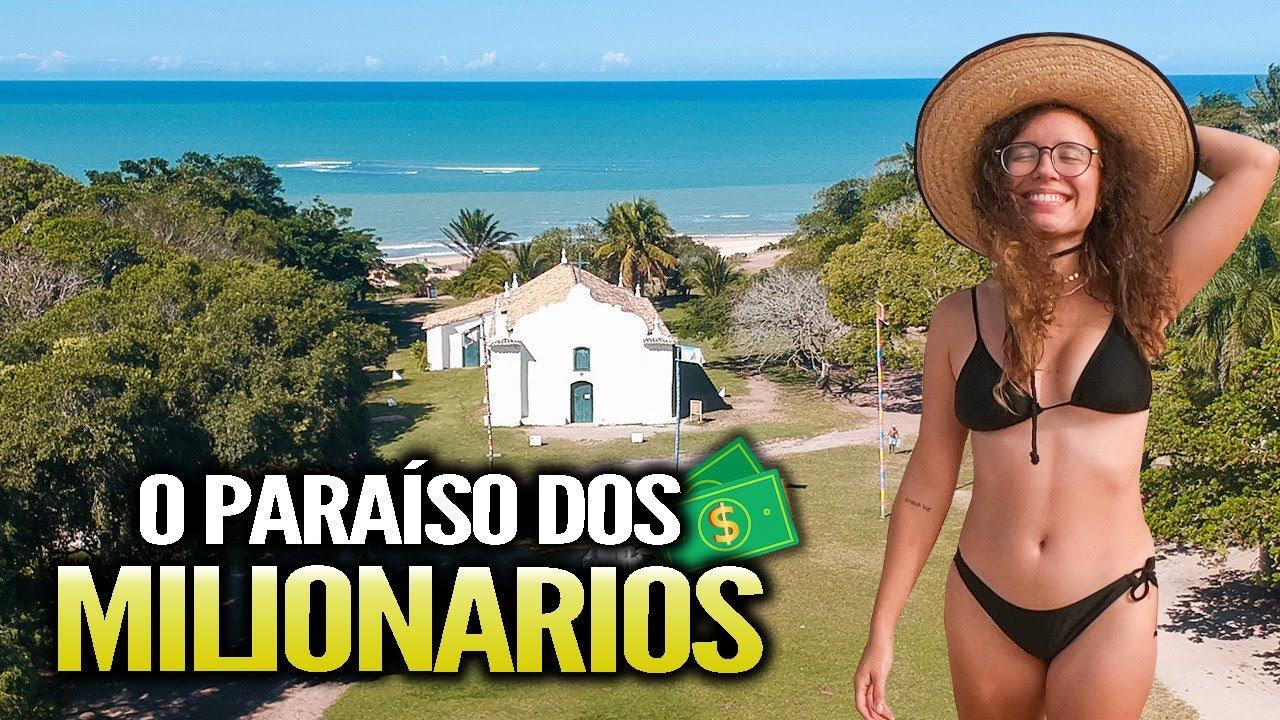 O destino dos MILIONÁRIOS no Brasil - Trancoso,Bahia