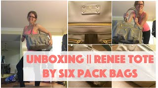 Unboxing || Renee Tote by Six Pack Fitness || Megan Zars