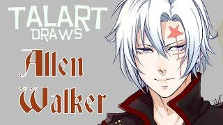 Digital Drawing: Allen Walker from D. Gray Man (Fanart)