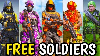 How to Unlock FREE Character Skins in Call Of Duty Mobile! Season 11 Free Soldiers!