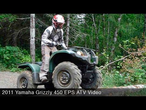 2011 Yamaha Grizzly 450 EPS ATV Review