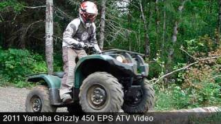 2011 Yamaha Grizzly 450 EPS ATV Review(, 2010-10-01T17:38:31.000Z)