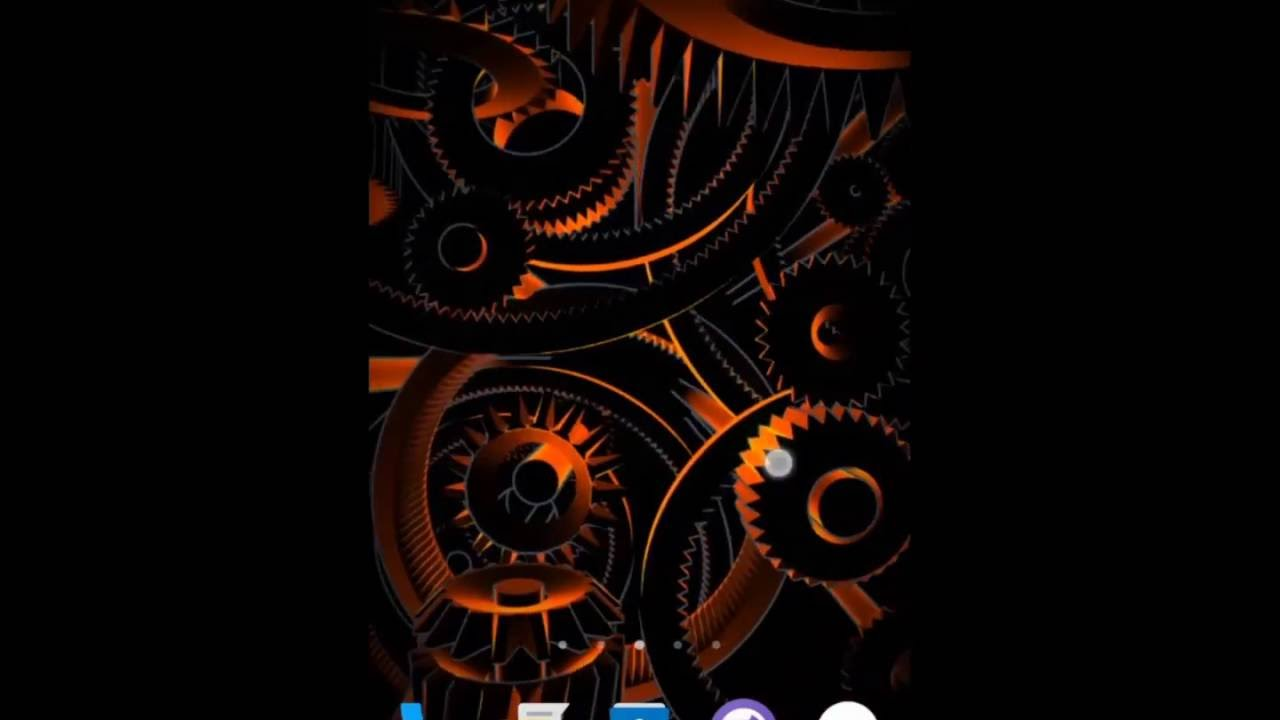 Laser Gears Live Wallpaper 22 For Android Youtube