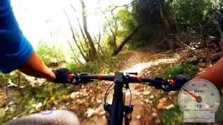 The Anthills Trail - Eldridge to Wilcrest - MTB (GoPro Chest + RaceRender Test)
