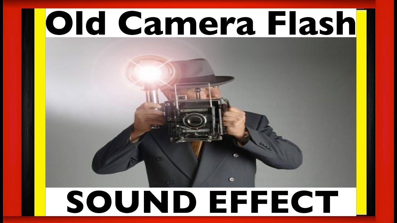 Old Camera Flash Sound Effect   Camera Flash Sfx   HD - YouTube