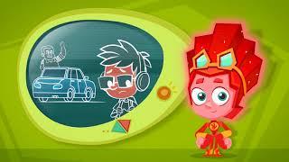 Фикси - советы - Как переходить дорогу! - обучающий мультфильм для детей
