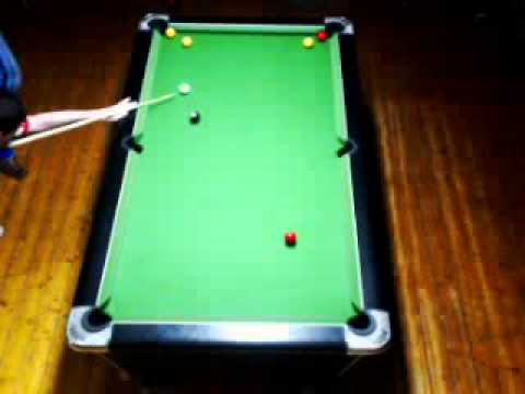 Blackball pool - Which ball was hit first?