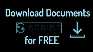 Gambar cover How to Download Scribd Documents for Free