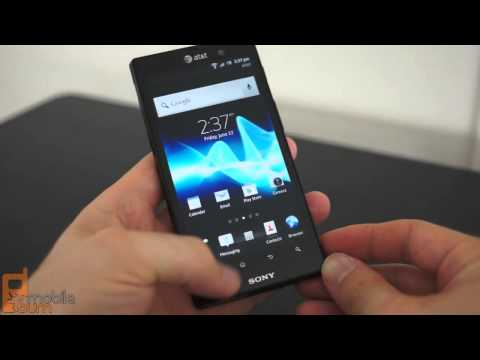 Sony Xperia ion (AT&T) video review