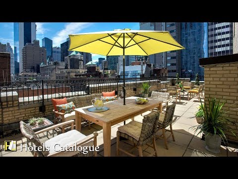 JW Marriott Essex House New York Hotel Tour - Luxury 5-Star Hotel in New York