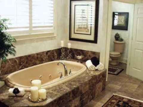 simple garden tub decor ideas youtube. Black Bedroom Furniture Sets. Home Design Ideas