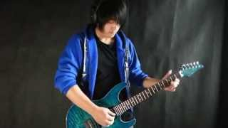 Naruto Shippuden OP3「Blue Bird」Electric Guitar - by Vichede