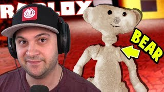 one of the weirdest and creepiest Roblox games ever... (Bear)