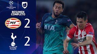 PSV 2-2 Tottenham - GOLES Y RESUMEN - Grupo B UEFA Champions League