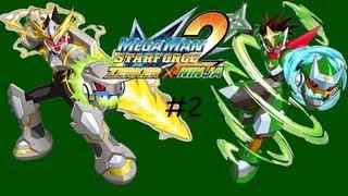 MegaMan Star Force 2 - Zerker x Ninja Gameplay\Walkthrough Part 2