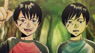 近所の森へ遊びに出かけた双子の少年、タカシとサトシ。 引っ込み思案の...