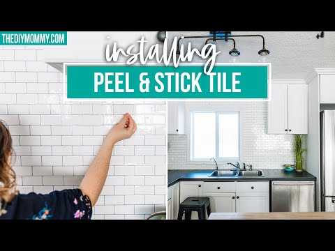 how-to-install-peel-and-stick-tile-backsplash-(because-it's-so-easy!)