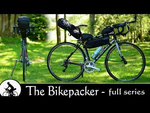 the bikepacker: (full series) - lightweight bikepacking setup gear & kit