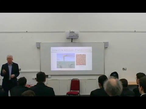 Nanotechnology- Professor Russel Cowburn