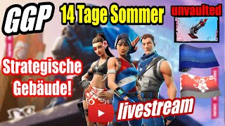 Strategic Buildings LTM! | Bottle files! | Patriot Skins! | Fortnite Live 14 Days Summer